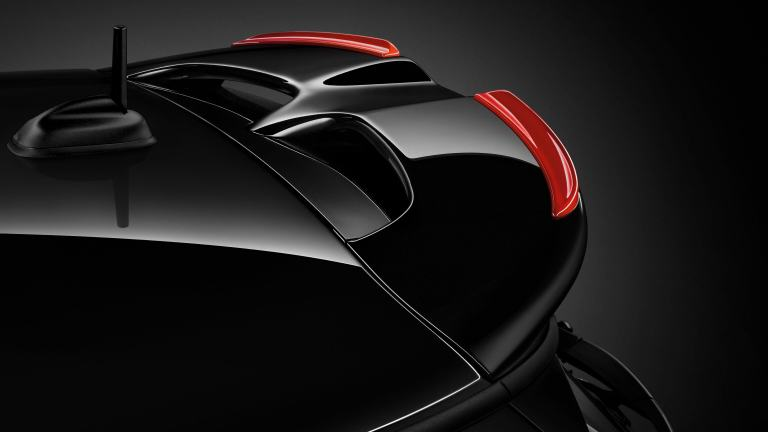 JCW Pro Air inlet trim in carbon