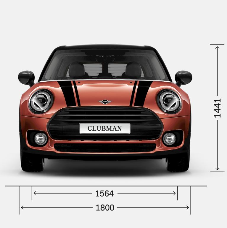 MINI Clubman – parte frontal